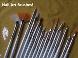 My inexpensive nail art supplies! -For easy nail design beginners- nail designs short nails-nail art