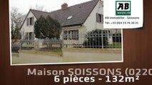 A vendre - maison - SOISSONS (02200) - 6 pièces - 132m²
