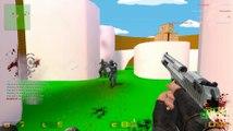Lets Play Counter Strike Source # 22 (Deutsch) - Schön von der Seite «» CSS Gun Game | HD