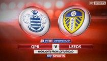 QPR 1-1 Leeds United Highlights #qpr #LUFC