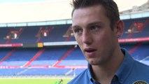 08-07-2013 De Vrij weer fit terug bij Feyenoord