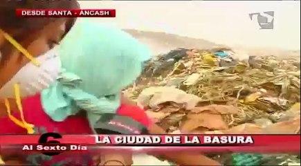 La ciudad de la basura: una visita a las entrañas del infierno en Áncash