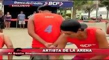 Artista de la arena: Rubén Rebatta y su gran competencia en Huanchaco