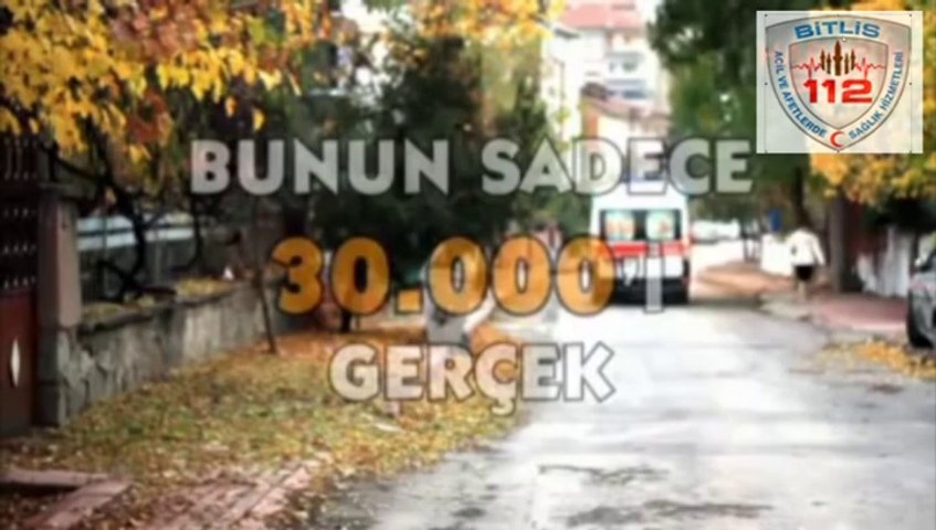 112 de gereksiz çağrılar.Bitlis 112 Kamu Spotu | Godialy.com
