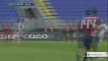 Victor Ibarbo Fantastic Goal - Cagliari vs Udinese 1-0 (Seri