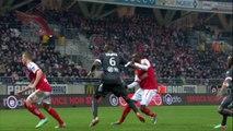 But Prince ONIANGUE (38ème) - Stade de Reims - Valenciennes FC - (3-1) - 01/03/14 - (SdR-VAFC)