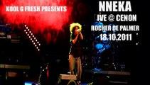 Nneka Live @ Cenon Le Rocher De Palmer 18.10.2011 Africans