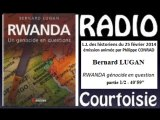 R-Courtoisie 2014.02.25 Bernard LUGAN - Rwanda génocide? 1/2
