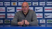 """PSG - OM (2-0) La conf' de José Anigo """"Paris est supérieur à l'OM""""- 2013/2014"""