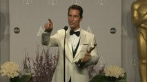 Oscars Winners Room: Matthew McConaughey on Best Actor win