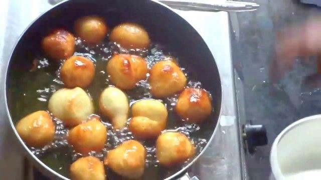 Mysore Bajji or Mysore Bonda Preparation in Telugu