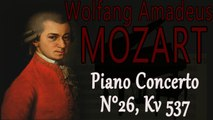Wolfgang Amadeus Mozart - MOZART PIANO CONCERTO NO  26, KV 537