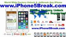 World Wide Unlock iPhone 5S,5C, 4S, 4, 3GS Verizon, ATT