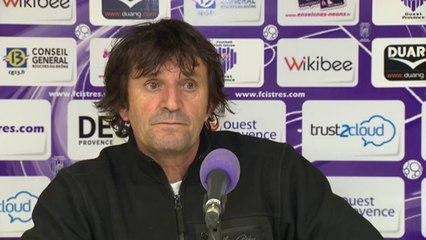 Istres - Le Havre 0-1 Réaction de José Pasqualetti