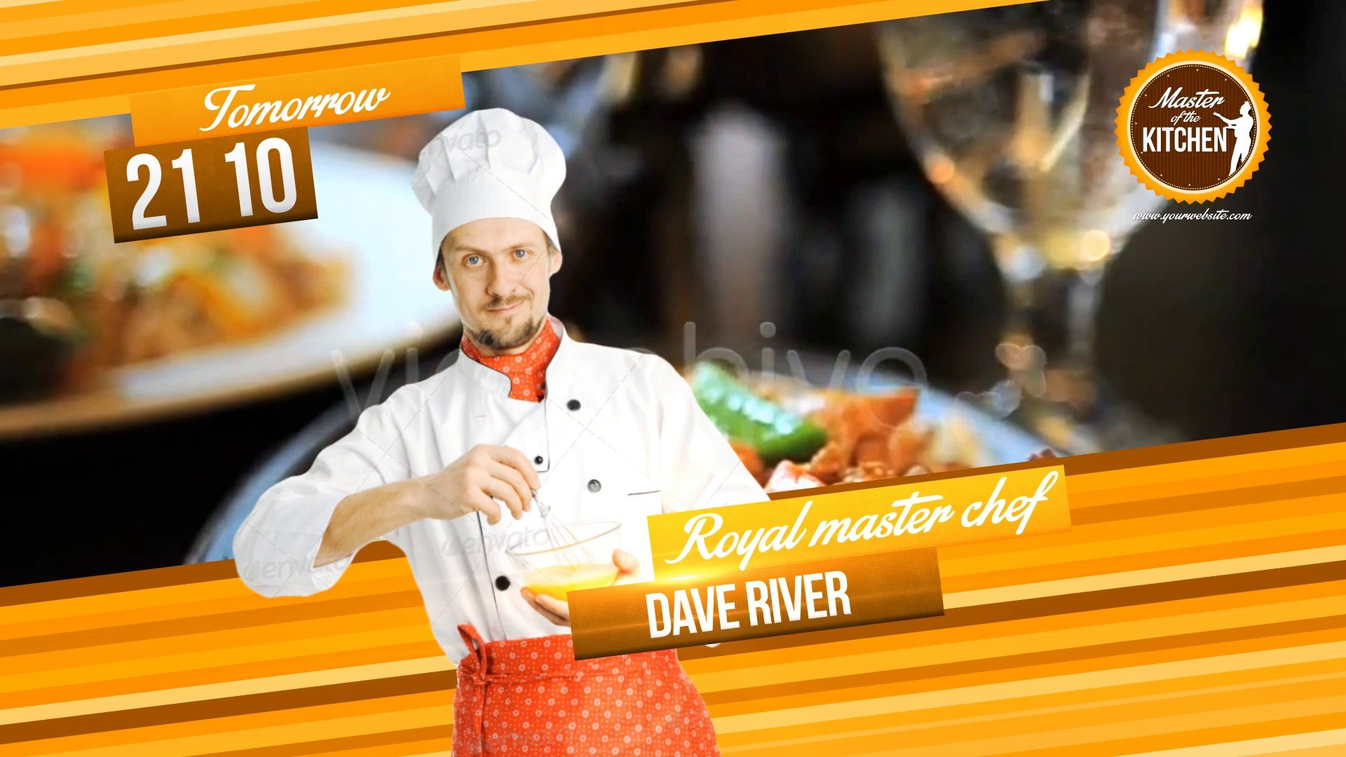 Favorite Cooking Show Template