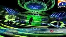 Pakistan Idol 2013-14 - Episode 25 - 04 Gala Round Top 10 (Zamaad Baig)