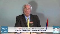 VIAS - 2014 - HENRI MALLET DE CHAUNY VIAS BLEU MARINE par Didier DENESTEBE