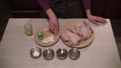 Roasted Cornish Game Hens part 1