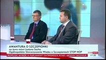 Awantura o szczepionki i opinia Justyny Sochy ze STOP NOP na temat szczepień (27.02.2014)