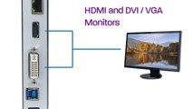 Diamond Multimedia Ultra Dock Dual Video USB 3.02.0 Docking Station