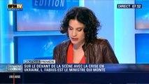 Politique Première: Laurent Fabius progresse dans les sondages - 04/03