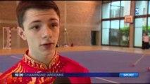 L'Equipe de France Junior de Wushu au CREPS de Reims - France 3 Champagne-Ardennes