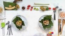 Papillotes de crevettes / Pinchos de crevettes - Péché gourmand S3 E19