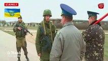 Tirs de sommation russes contre des soldats ukrainiens
