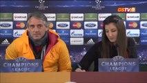 FUTBOL Basın Toplantısı Roberto Mancini -- Wesley Sneijder