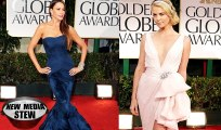 GOLDEN GLOBES REVIEW: Madonna, Angelina Jolie, Johnny Depp, Lea Michele & More