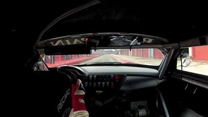 BMW Z4 GT3 at Imola test drive