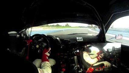 Ferrari 458 Italia GT3 test drive