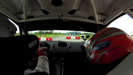 Ford Fiesta R5 test drive