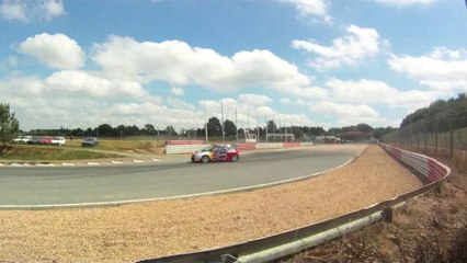 Citroen DS3 Sébastien Loeb Rallycross test drive