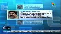 Golpe de Estado ha sido derrotado con la constitución: Nicolás Maduro