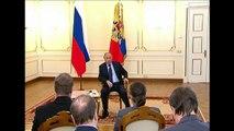 Putin says Russian intervention in Ukraine is legiutimate