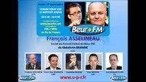François Asselineau, invité du Forum-Débat de BEUR FM - 15/11/2012