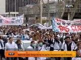 Mobilisation des étudiants infirmiers