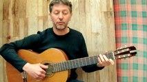 Le père Noël et la petite fille - Georges BRASSENS reprise (guitar & vocal cover)