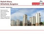 Skylark Ithaca Pre Launch Project 1 BHK, 2 BHK, 3 BHK Flats for Sale
