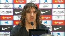 Carles Puyol dejará el Barça a final de temporada
