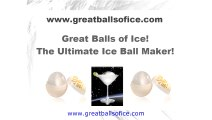 Most Popular Ice Ball Mold For Whiskey and Cocktails