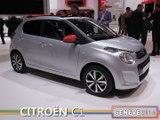La Citroën C1 en direct du salon de Genève 2014