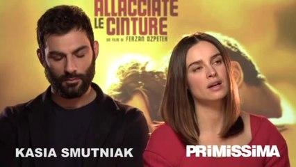 Intervista a Kasia Smutniak e Francesco Arca protagonisti del film Allacciate le cinture