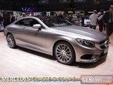La Mercedes Classe S Coupé en direct du salon de Genève 2014