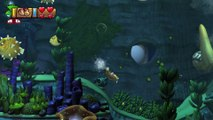 Donkey Kong Country: TF. Tentáculos temibles 4-4 - Gameplay - 100% puzzles y letras