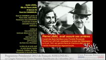 Programme de François Asselineau, Président de l'UPR pour les élections 2012 PART 01/10