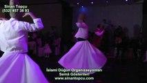 """Bursa Gold Düğün Salonunda ki """"Bursa ilahi grubu"""" islami düğün programı ve semazen grubu bursa"""