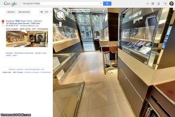 Visite virtuelle Google Bijouterie