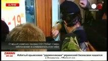 Des hommes armés forcent l'envoyé spécial de l'ONU à quitter la Crimée
